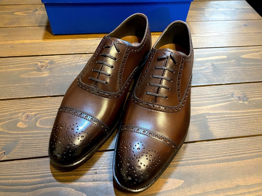 ブリドレンの革靴