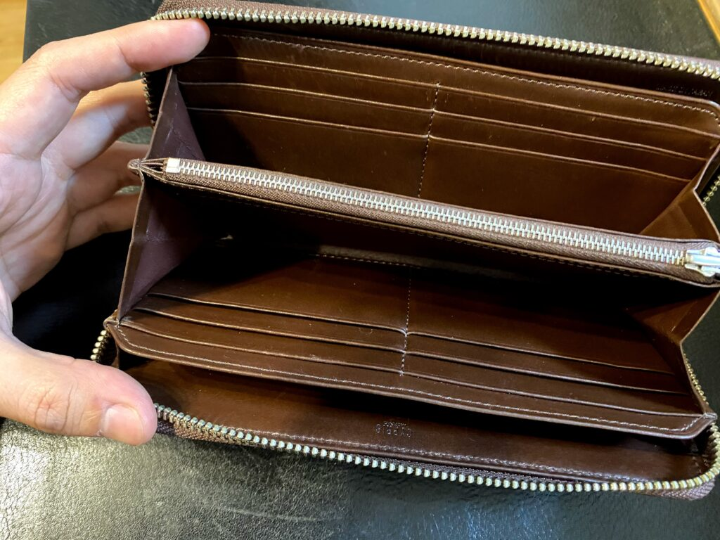キプリス財布中身